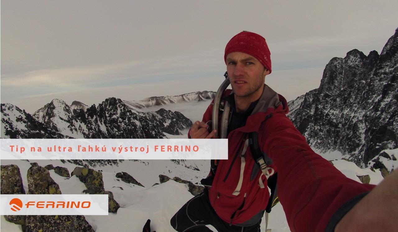 ultra ľahká zimná výstroj Ferrino